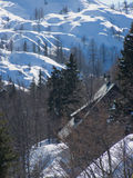 Natal nas montanhas Fotografia de Stock Royalty Free