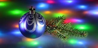 Natal no disco Fotografia de Stock