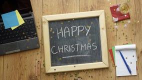 Natal no escritório Imagem de Stock