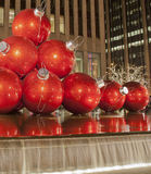 Natal no Midtown Manhattan foto de stock