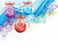 Natal ornamentado ilustração royalty free