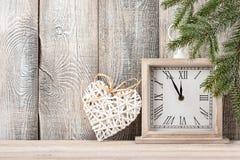 Natal ou anos novos do fundo da véspera Foto de Stock