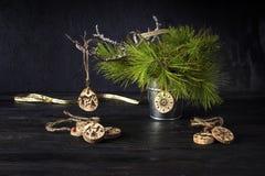 Natal ou brinquedos caseiros novos do ` s do ano Imagem de Stock Royalty Free