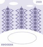 Natal ou cartão do ano novo imagem de stock royalty free