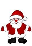 Natal Papai Noel ilustração stock