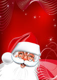 Natal. Papai Noel. Fotos de Stock Royalty Free