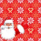 Natal. Papai Noel Foto de Stock Royalty Free