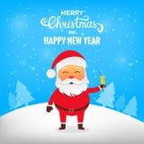 Natal Papai Noel Foto de Stock