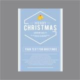 Natal para o tema do grupo de cartão Imagens de Stock Royalty Free