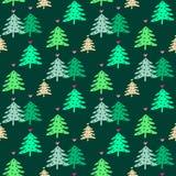 Natal pattern62 Fotografia de Stock Royalty Free