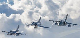 NATAL RIO GRANDE FONT NORTE, BRÉSIL - 18 NOVEMBRE 2018 - escadron Cruzex en fonction de combat photographie stock libre de droits