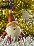 Natal Santa e pomba Foto de Stock Royalty Free