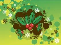 Natal santamente Foto de Stock Royalty Free