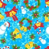 Natal sem emenda Imagens de Stock Royalty Free