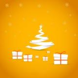 Natal simples do vetor Imagem de Stock