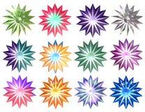 Natal Stars02 Imagem de Stock
