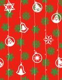 Natal - teste padrão sem emenda Imagem de Stock Royalty Free