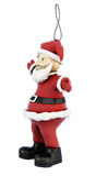 Natal Toy Santa Claus no branco ilustração royalty free