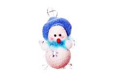 Natal Toy Snowman. fotografia de stock