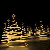 Natal tree3 Ilustração do Vetor