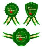 Natal verde do frame Ilustração Royalty Free