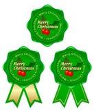 Natal verde do frame Ilustração Stock