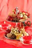 Natal vermelho fotografia de stock