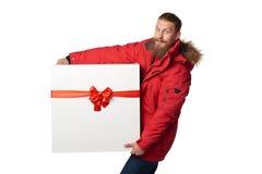 Natal, x-mas, conceito do presente do inverno Foto de Stock