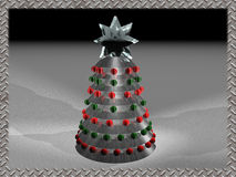 Natale 2 di Techno Immagine Stock Libera da Diritti