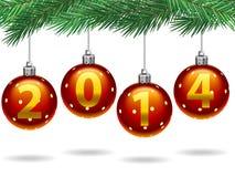 Natale 2014 royalty illustrazione gratis