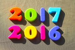 2016-2017 Natale Immagini Stock