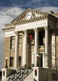 Natale al tribunale della contea di Limestone Alabama Immagini Stock Libere da Diritti