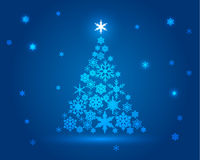 Natale-albero Immagine Stock Libera da Diritti