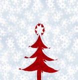 Natale-albero Fotografia Stock Libera da Diritti