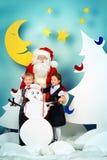 Natale alla scuola Fotografia Stock Libera da Diritti