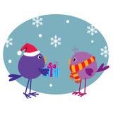 Natale allegro! Immagini Stock