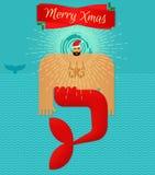 Natale allegro Immagini Stock Libere da Diritti