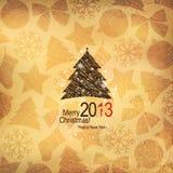 Natale & nuovo anno illustrazione di stock