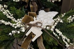 Natale aspettante Fotografia Stock