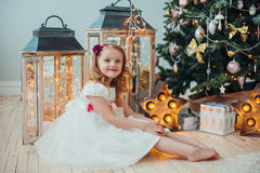 Natale aspettante Fotografia Stock Libera da Diritti