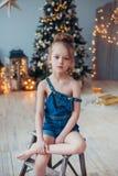 Natale aspettante Immagini Stock