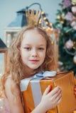Natale aspettante Fotografie Stock