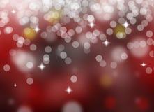 Natale astratto Fotografie Stock