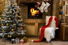 Natale attendente fotografia stock libera da diritti
