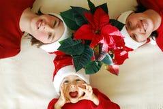 Natale attendente immagini stock