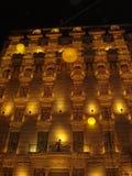 Natale a Barcellona fotografia stock libera da diritti