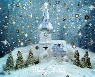 Natale bianco 5 Fotografie Stock