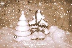 Natale bianco 7 Immagine Stock