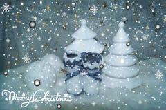 Natale bianco 8 Immagini Stock