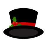Natale black hat Immagine Stock